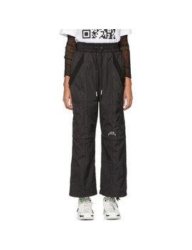 Black Technical Reduction Lounge Pants by A Cold Wall*
