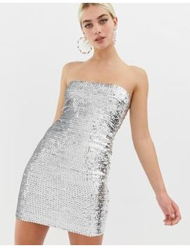 Collusion Sequin Bodycon Mini Dress by Collusion