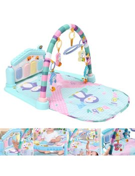Meigar Baby Play Mat Gym, 3 In1 Newborn Infant Baby Musical Piano Play Mat Blanket Kids Activity Carpet Rug by Meigar