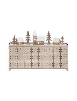 Wood Advent Calendar by Creative Co Op