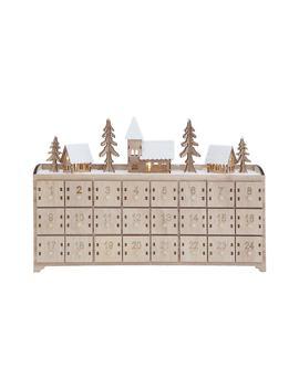Wood Advent Calendar by Creative Co Op