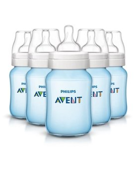 Philips Avent Anti Colic Baby Bottles Blue, 9oz, 5pk, Scf405/57 by Philips Avent