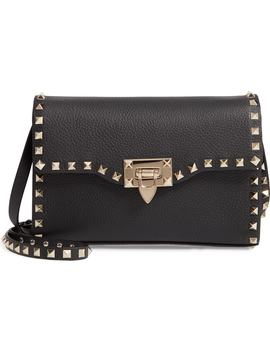 Valentino Garavan Medium Rockstud Leather Shoulder Bag by Valentino Garavani