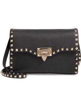 Valentino Garavan Medium Rockstud Leather Shoulder Bag by Valentino Garavani