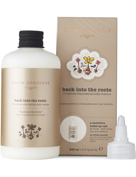 Online Only Back Into The Roots 10 Minute Stimulating Scalp Masque by Grow Gorgeous