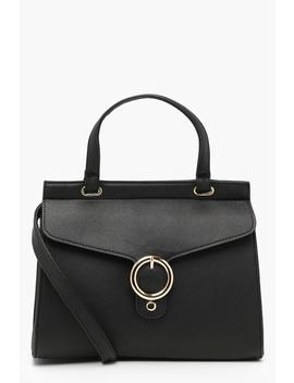 O Ring Buckle Day Bag by Boohoo
