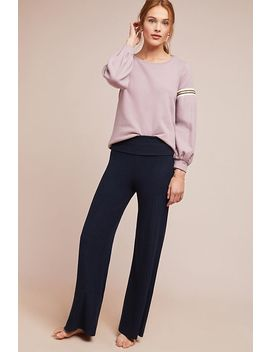 Foldover Wide Leg Trousers by Saturday/Sunday