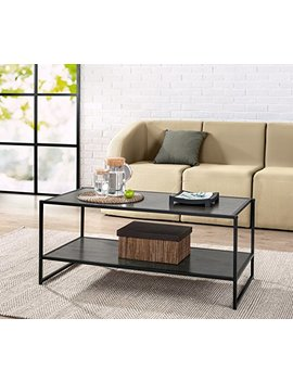 Zinus Modern Studio Collection Deluxe Rectangular Coffee Table, Espresso by Zinus