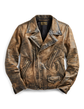 Limited Edition Leather Jacket by Ralph Lauren