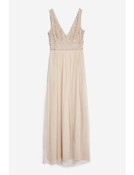 **Mulan Maxi Dress By Lace & Beads by Topshop