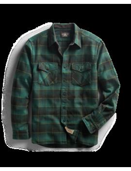 Plaid Dobby Workshirt by Ralph Lauren