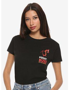 Disney Mulan Pocket Sized Mushu Girls T Shirt by Hot Topic