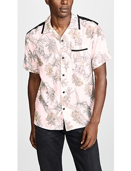 Printed Short Sleeve Shirt by Coach 1941