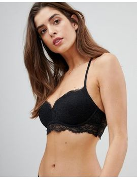 Gilly Hicks Eyelash Lace Non Wired Push Up Bra by Gilly Hicks