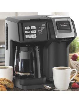 Hamilton Beach Flex Brew® 2 Way Coffee Maker & Reviews by Hamilton Beach