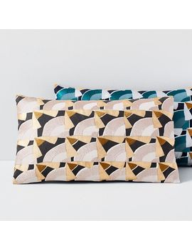 Deco Tile Pillow Covers by West Elm