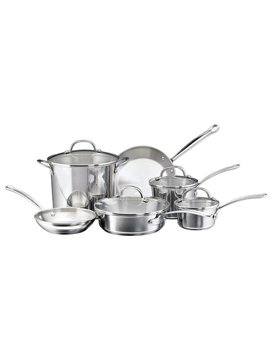 Farberware Millennium 6 Piece Stainless Steel Cookware Set & Reviews by Farberware
