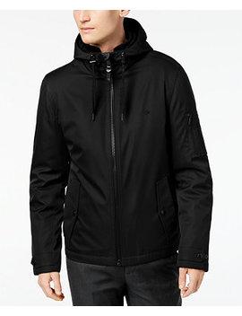 Men's Ripstop Hooded Windbreaker by Calvin Klein