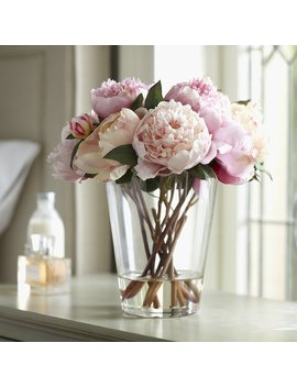 House Of Hampton Faux Peonies Floral Arrangement & Reviews by House Of Hampton
