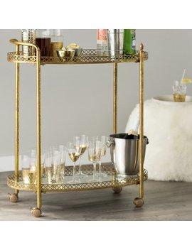Mistana Timberlake Bar Cart & Reviews by Mistana