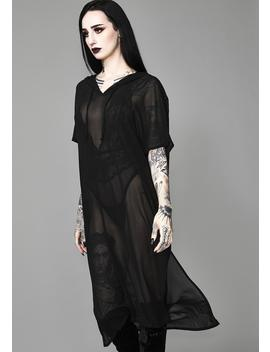 Aphotic Priestess Chiffon Tunic by Widow