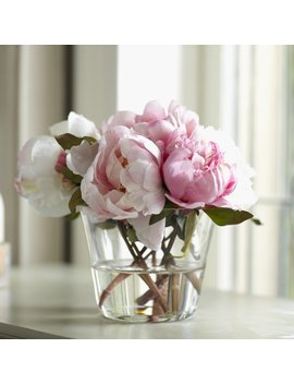 House Of Hampton Faux Peony Floral Arrangements In Vase & Reviews by House Of Hampton