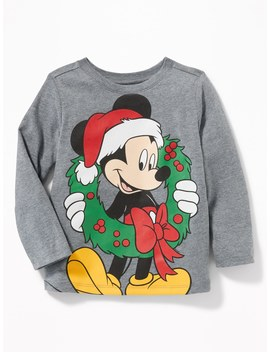 Disney© Mickey Mouse Christmas Tee For Toddler Boys by Old Navy