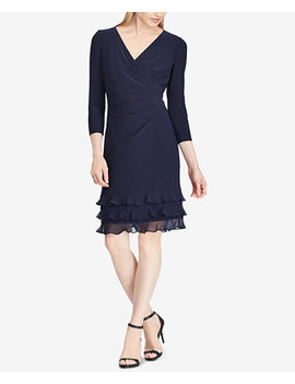 Ruffle Trim Dress by Lauren Ralph Lauren