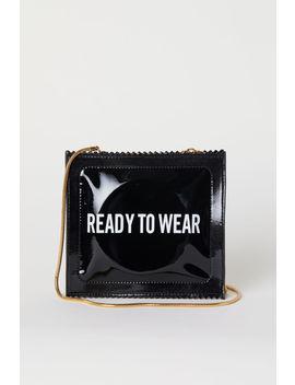 Лакированная сумка через плечо by H&M