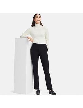 Damen Ezy Tweed Hose by Uniqlo