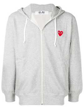 Zipped Hooded Jacket by Comme Des Garçons Play