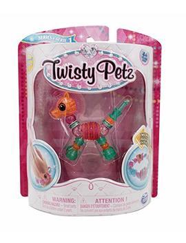 Twisty Petz   Blushy Zebra   Make A Bracelet Or Twist Into A Pet! by Twisty Petz