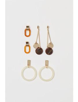 3 пары серег by H&M