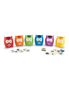 Vowel Owl Sorting Set Educational Game by Zulily