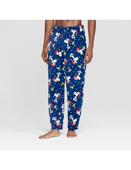 Men's Peanuts Pajama Pants   Navy by Briefly Stated