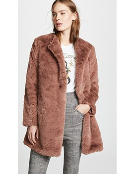 Love You Furever Faux Fur Coat by Bb Dakota