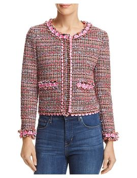 Cropped Tweed Jacket by Boutique Moschino