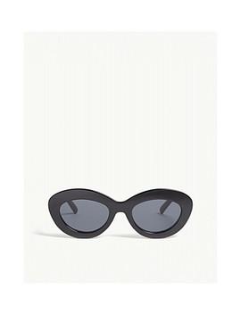 Fluxus Cat Eye Sunglasses by Le Specs