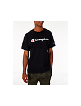Men's Champion Graphic Jersey T Shirt by Champion