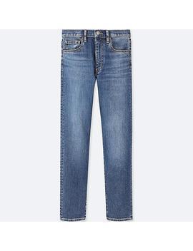 Damen Gerade Jeans (Hoher Bund) by Uniqlo
