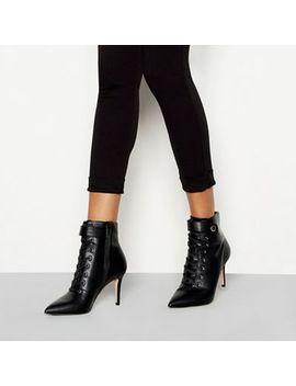 Faith   Black 'bace' Stiletto Heel Boots by Faith