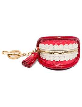 Teeth Key Ring Purse by Anya Hindmarch