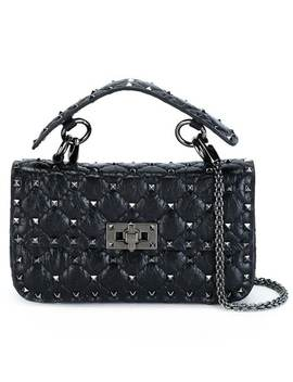 Valentino Garavani Tiny Rockstud Spike Crossbody Bag by Valentino