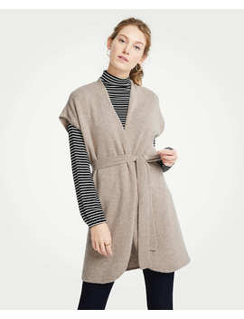 Cashmere Belted Cardigan by Ann Taylor