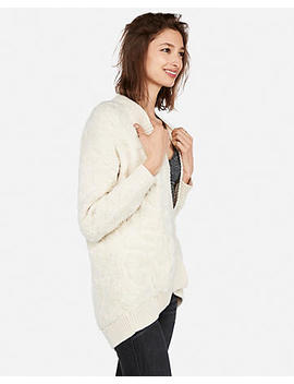Petite Cozy Leopard Cover Up by Express