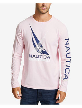 Men's Excel Logo Graphic T Shirt by Nautica