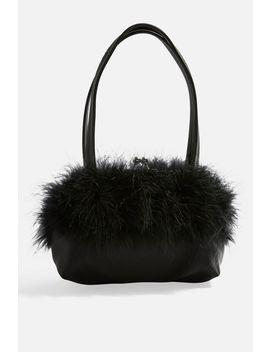 Birdie Marabou Bag by Topshop