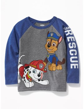 "Paw Patrol™ ""Team Rescue"" Raglan Sleeve Tee For Toddler Boys by Old Navy"
