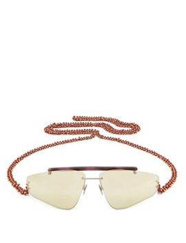 Ylari Angular Acetate Sunglasses by Acne Studios
