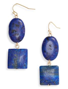 Semiprecious Double Drop Earrings by Halogen®